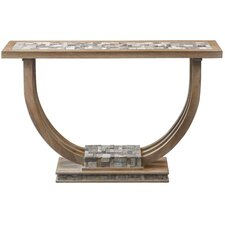 Claughaun Mosaic Console Table by Bungalow Rose