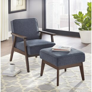 Berthiaume Armchair And Ottoman by Brayden Studio Cheap