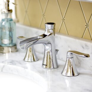 Speakman Caspian Widespread Bathroom Faucet with Optional Pop-Up Drain Assembly