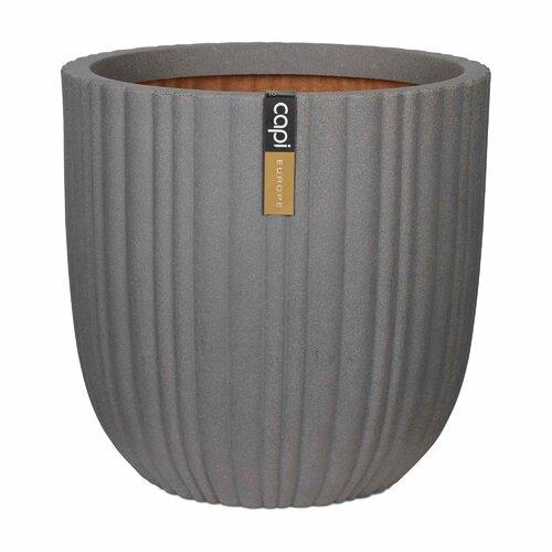 Criner Planter Box Sol 72 Outdoor Colour: Grey, Size: 52 cm H x 54 cm W x 54 cm D