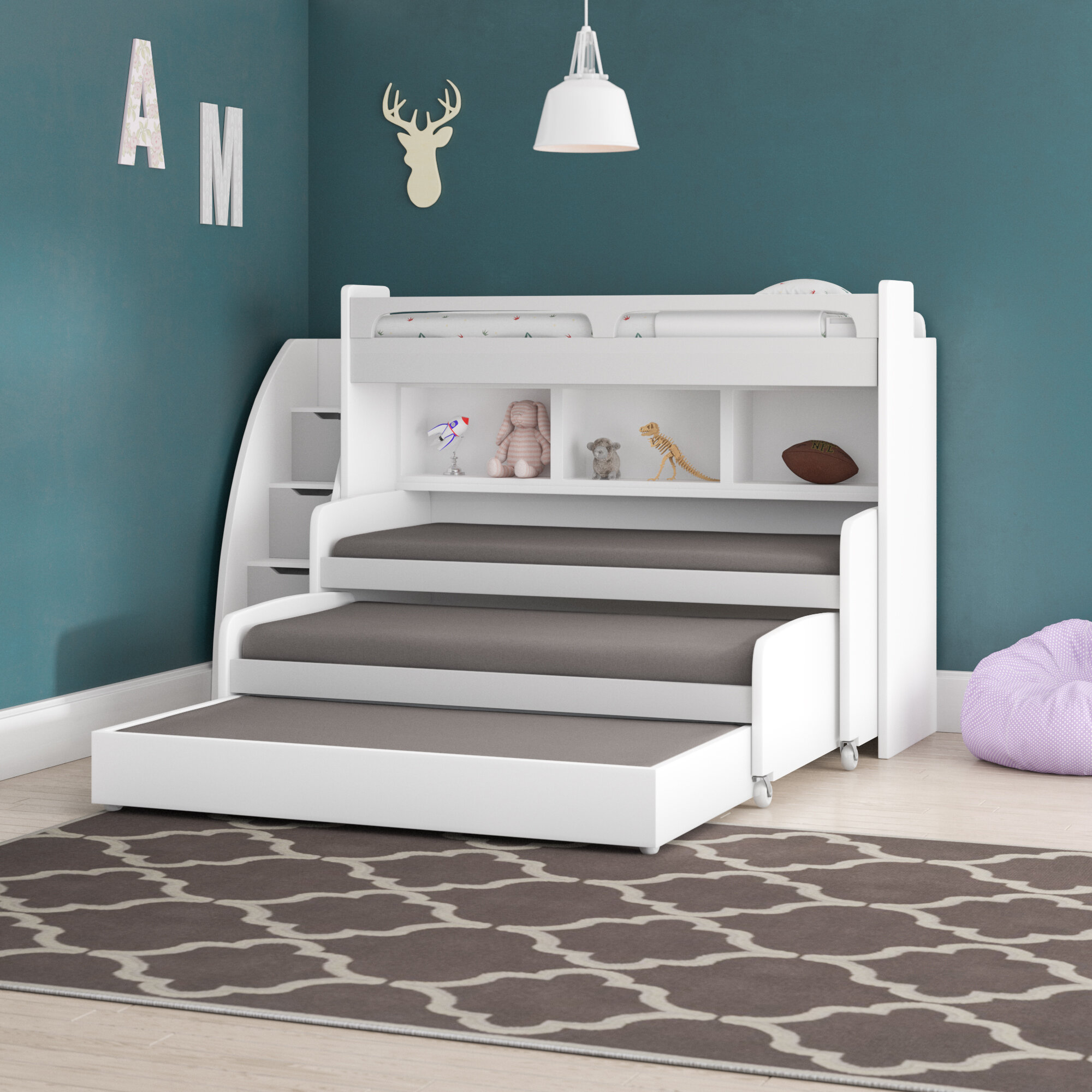 Picture of: L Shaped Twin Beds
