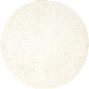 Zuniga Bright White Area Rug by Ebern Designs