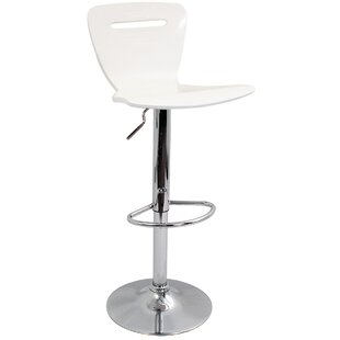 Neda Height Adjustable Swivel Bar Stool By Zipcode Design