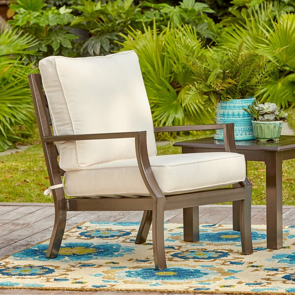 Awe Inspiring Farmhouse Rustic Metal Outdoor Furniture Birch Lane Bralicious Painted Fabric Chair Ideas Braliciousco