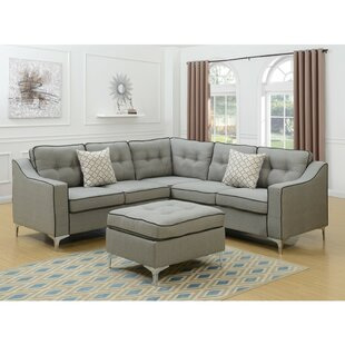 Willenborg Modular Sectional with Ottoman