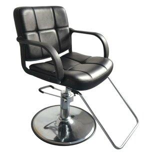 Hydraulic Styling Salon Station Furniture Massage Chair By Ebern Designs