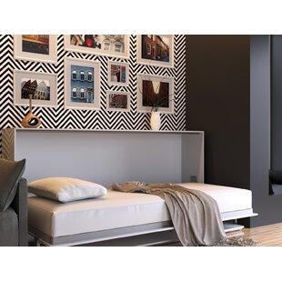 Kensa Murphy Bed with Mattress by Latitude Run