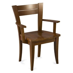 Tylor Solid Wood Arm Dining Chair by Corrigan Studio