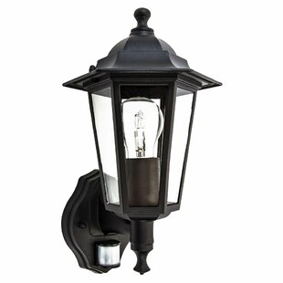 Review Bella Outdoor Wall Lantern With PIR Sensor