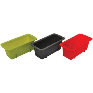 3 Piece Starfrit Silicone Mini Loaf Pan Set
