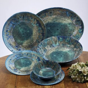 Breana Melamine Salad Plate Set Of 6