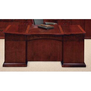 Del Mar Bow Front Executive Desk