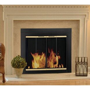 Arrington Bifold Style Steel Fireplace Doors by Pleasant Hearth