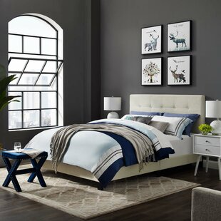 Mei Queen Upholstered Platform Bed by Andover Mills