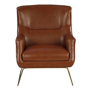 Tharp Matt SaddleWingback Chair By Brayden Studio