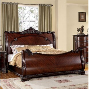 Fussell Sleigh Bed by Astoria Grand