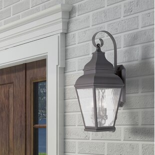 Southport 3-Light Outdoor Wall Lantern By Darby Home Co Outdoor Lighting