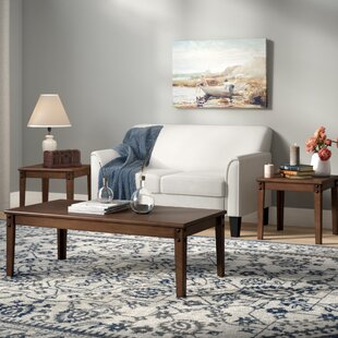 Look for Canfield 3 Piece Coffee Table Set By Charlton Home
