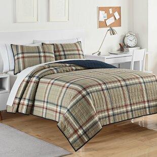 Kensington 3 Piece Reversible Quilt Set
