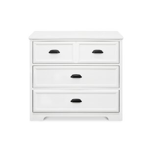 Check Prices 3 Drawer Dresser By Harriet Bee