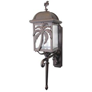 Affordable Penfield 3-Light Outdoor Sconce By Alcott Hill