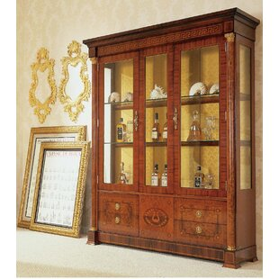Astoria Grand Prosperie Three Door Display Cabinet China Cabinet