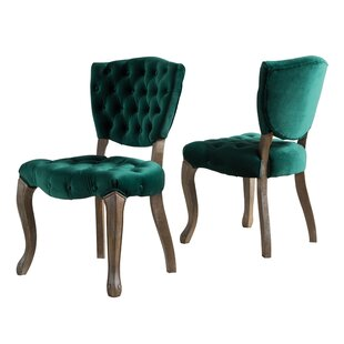 Boyles Upholstered Dining Chair (Set of 2)