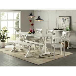 Fordingbridge 6 Piece Solid Wood Dining Set