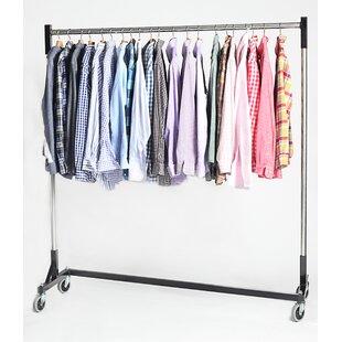 Best 63 W Heavy Duty Single Quickrail Garment Rack ByQuality Fabricators