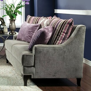 Gallager Traditional Opulent Loveseat by Everly Quinn
