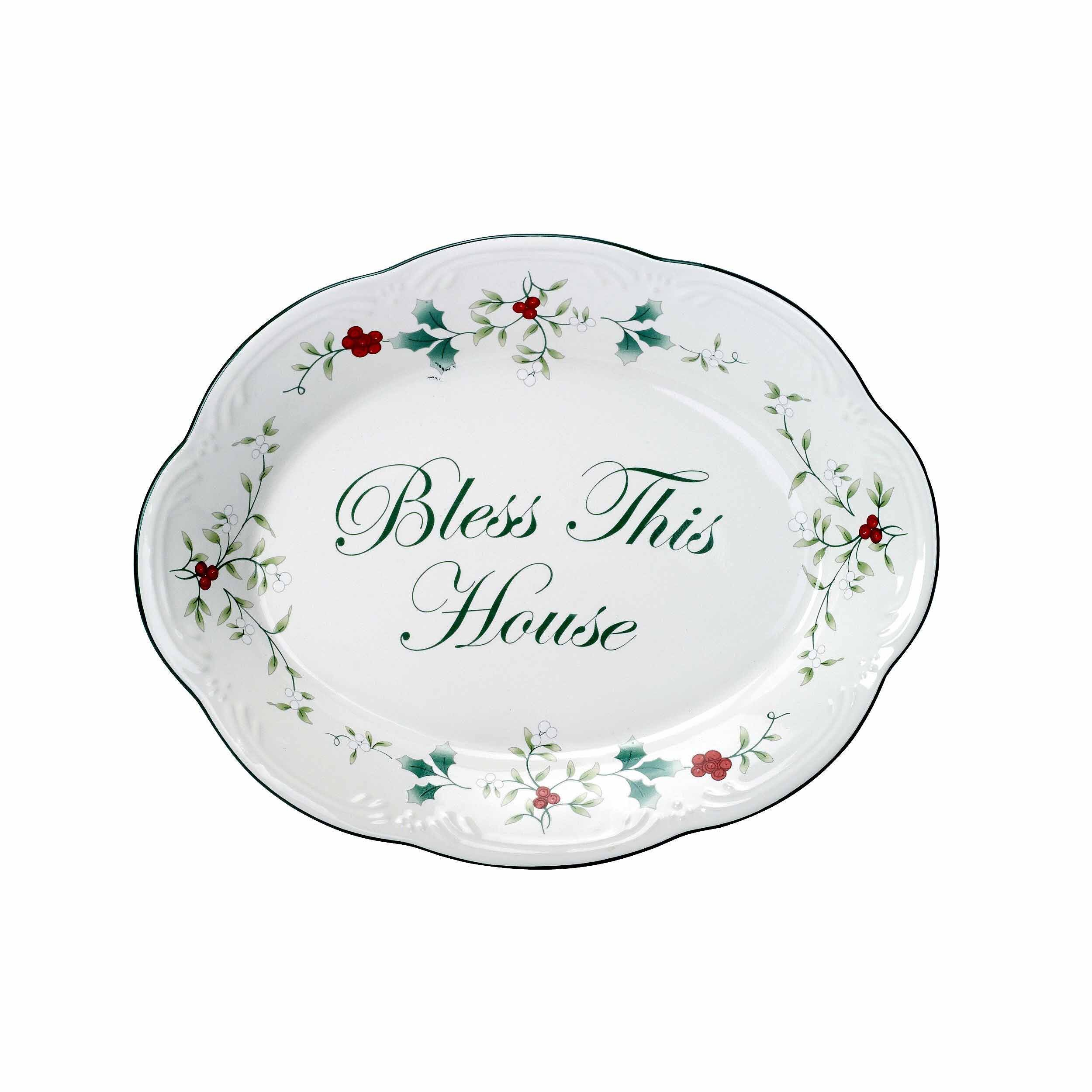 Christmas Floral Serving Trays Platters You Ll Love In 2021 Wayfair