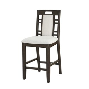 Park Avenue Wooden Armless 24 Bar Stool (Set of 2) Bloomsbury Market