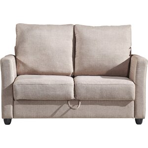 Aviana Contemporary Fabric Loveseat
