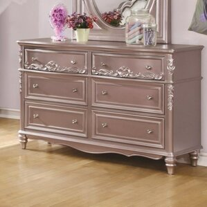 Whitney 6 Drawer Dresser b..