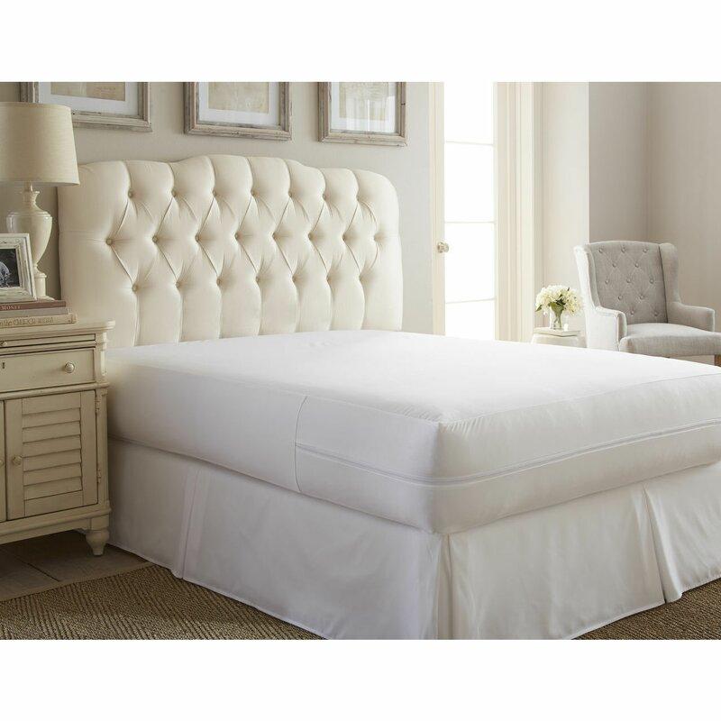 alwyn home ultra soft bed bug zipper hypoallergenic waterproof