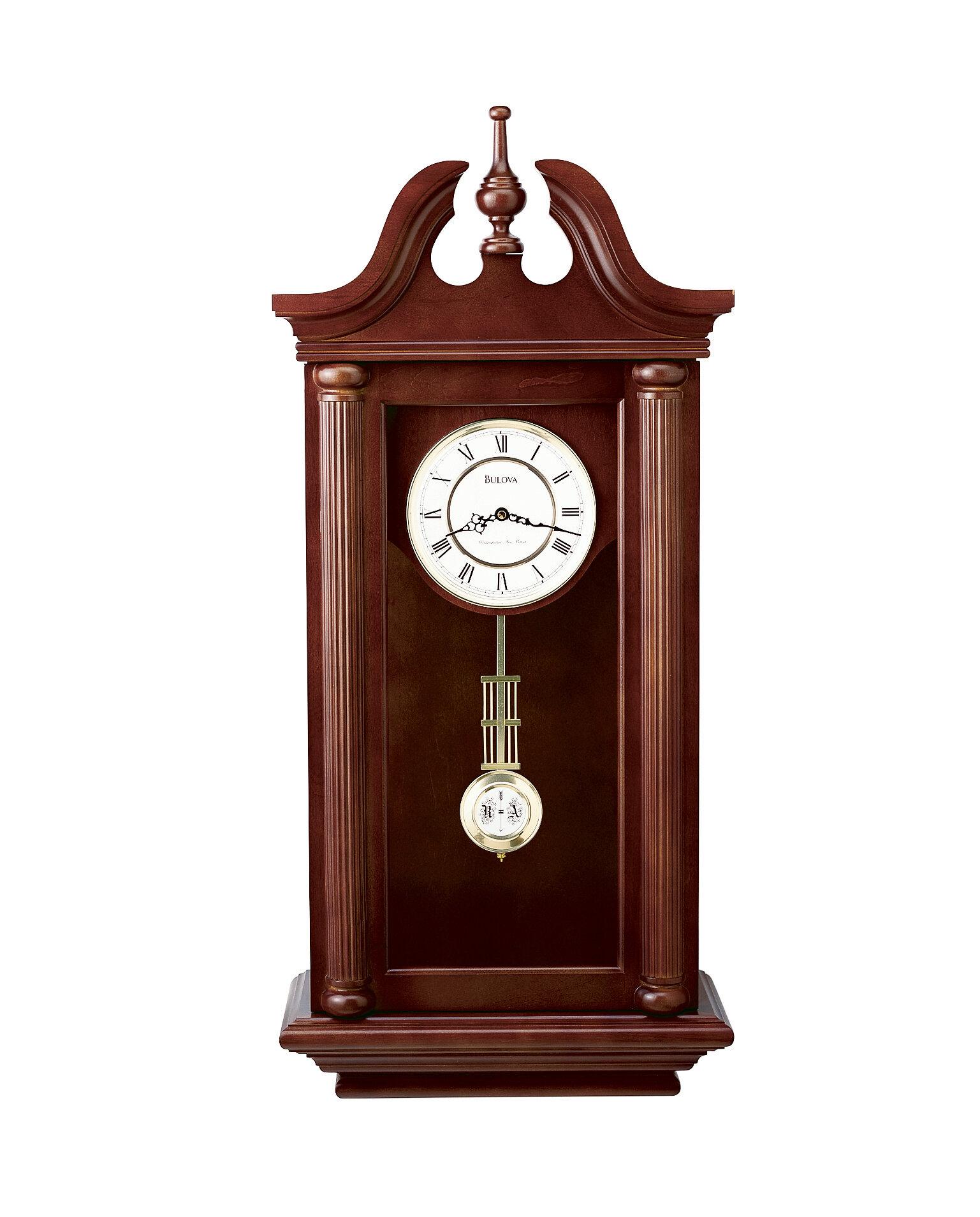 Bulova Manchester Pendulum Wall Clock Wayfair