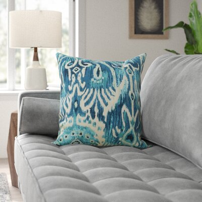 Blue Ikat Wayfair