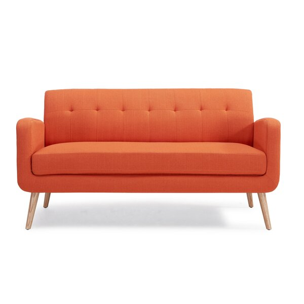 Superbe Burnt Orange Sofa | Wayfair