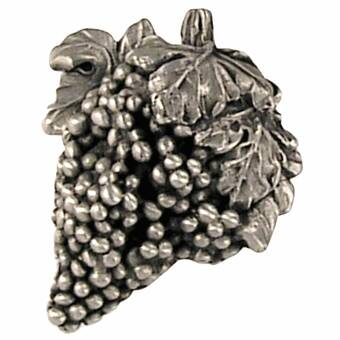 Kids' Home Store Natural Pewter Home & Kitchen Napa Valley 1.63 Grape Bunch Knob Finish