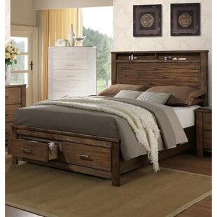 Foundry Select Boden Enchanting Wooden Queen Storage Panel Bed