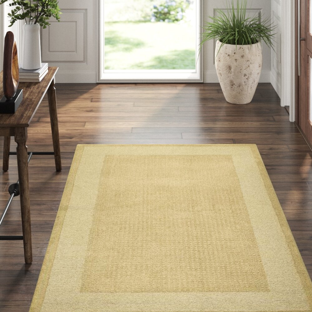 Nourison Westport Power Loom Wool Sand Area Rug Reviews Perigold