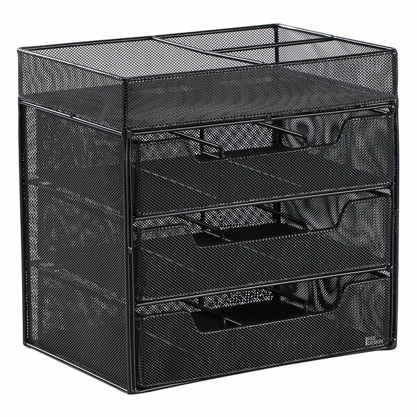 Ikee Design Metal Wire Mesh Tabletop Organizer | Wayfair
