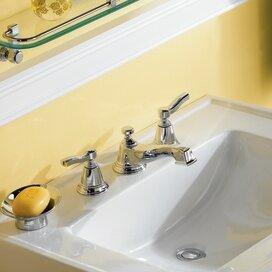 Moen Rothbury Widespread Low Arc Bathroom Faucet