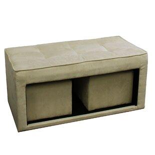 ORE Furniture Storage Ottoman
