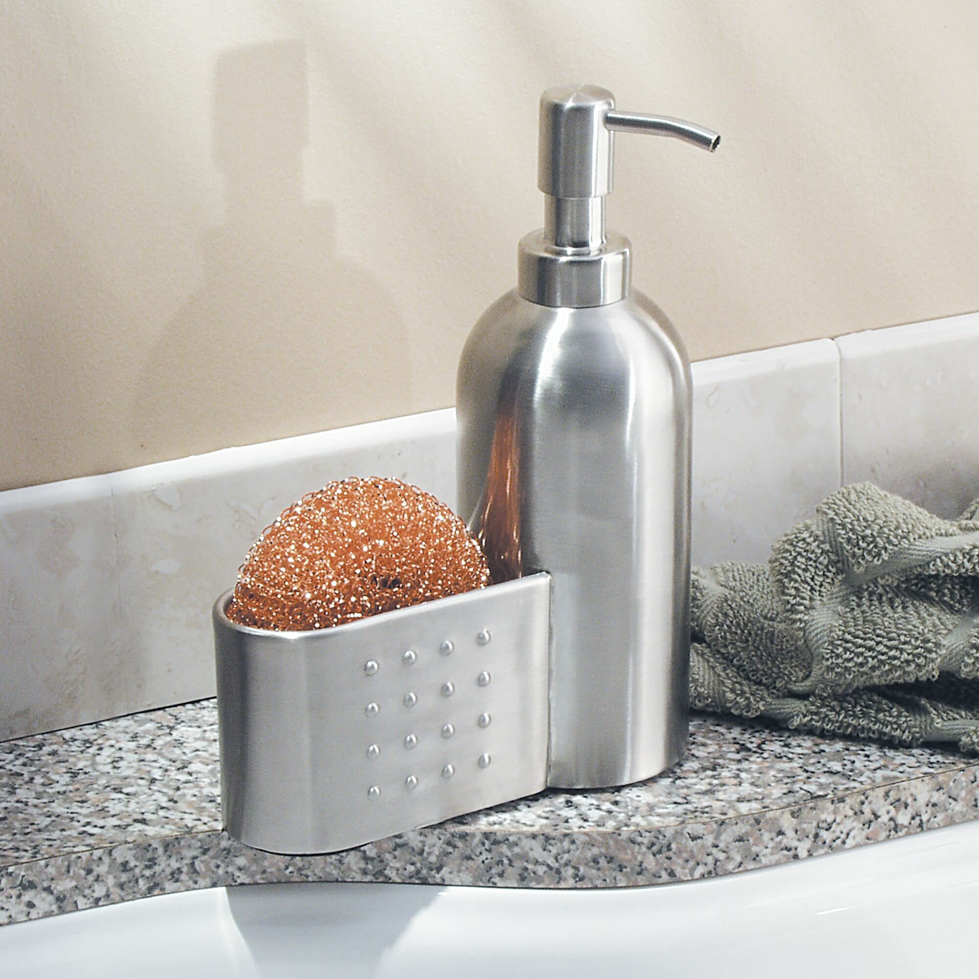 Sponge Caddy Soap Dispenser