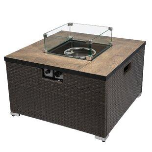 Buy Sale Price Faya Steel Propane Gas Fire Pit Table