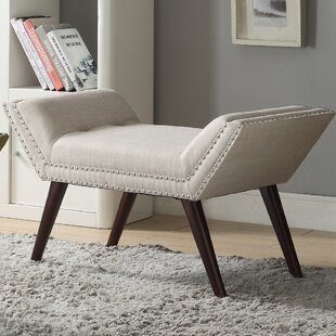 Buy clear Sharonville Upholstered Bench By Alcott Hill
