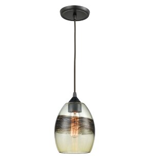 Wrought Studio SantaAna 1-Light Jar Pendant