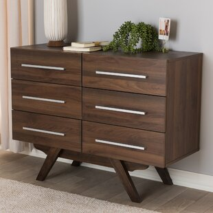Crayton 6 Drawer Double Dresser