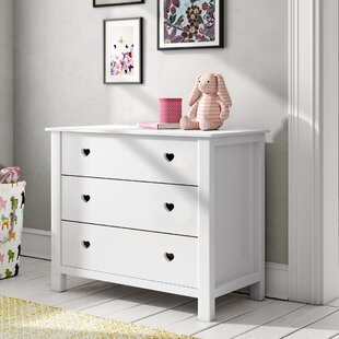Aldridge 3 Drawer Dresser By Harriet Bee